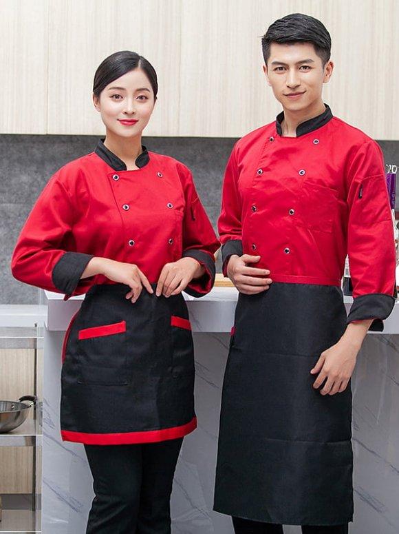 Đồng phục bếp mẫu 02